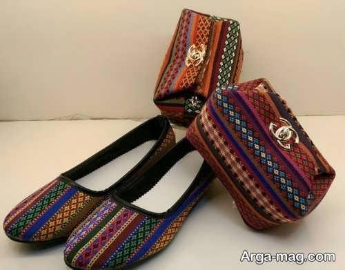 مدل کیف و کفش سنتی شیک
