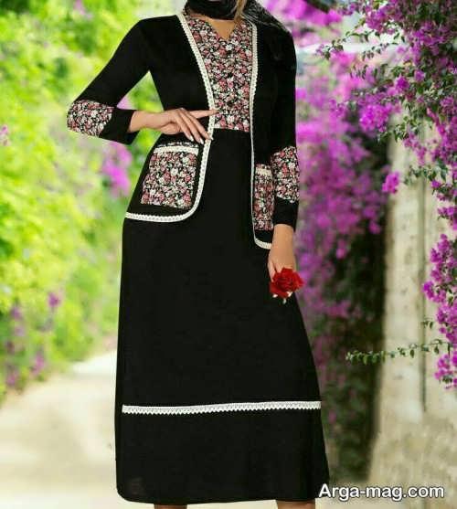 مدل کت و دامن بلند و سنتی زنانه