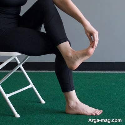 تمرینات کششی برای درد پاشنه پا