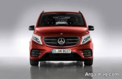 VAN 1 - معرفی خودرو ون مرسدس بنز مدل  Vکلاس در نسخه AMG