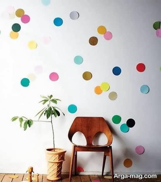 انواع تزیینات دیوار اتاق کودک