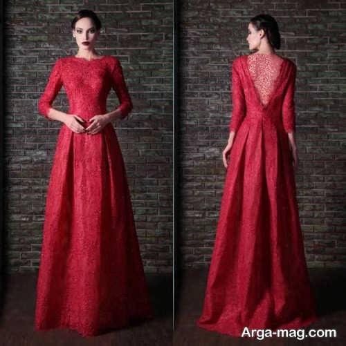 مدل لباس مجلسی زنانه بلند و زیبا