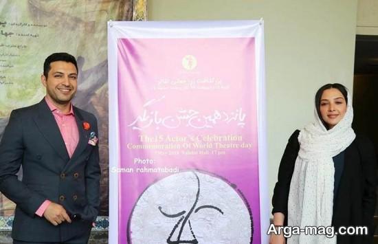 ashkan khatibi 2 - عکس های تازه منتشر شده از اشکان خطیبی و همسرش