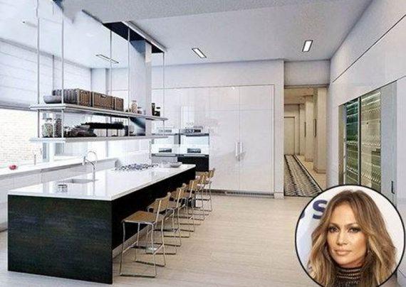 مدل آشپزخانه افراد مشهور هالیوود + عکس