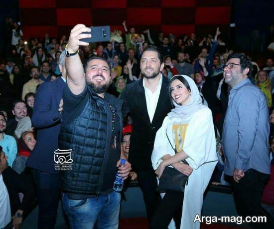 بهرام رادان و سایر بازیگران