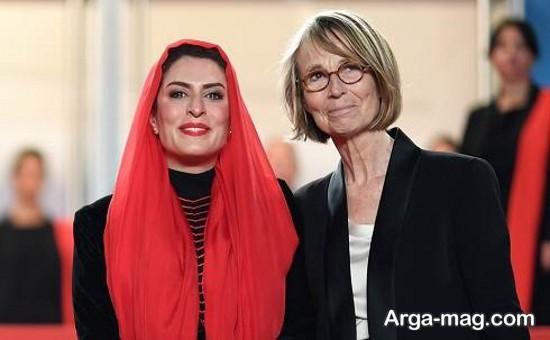 behnaz jafari - بهناز جعفری با چشمانی اشکبار در جشنواره فیلم کن امسال