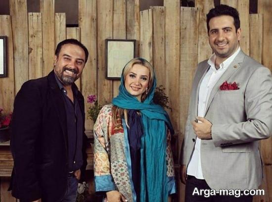 borzo arjmand 2 - تصاویر جدید برزو ارجمند و همسرش