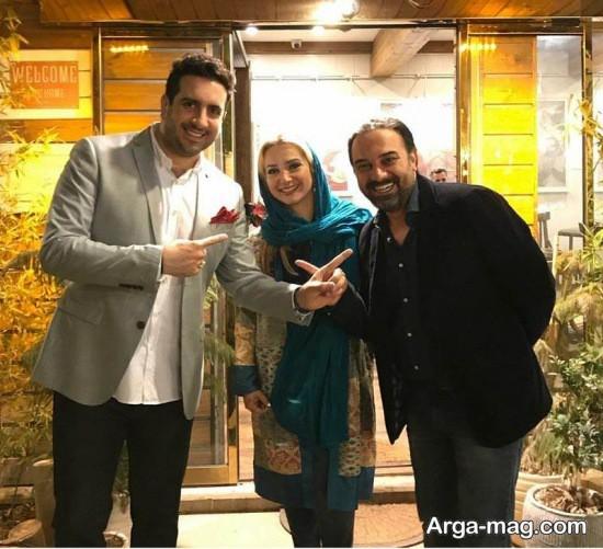 borzo arjmand 3 - تصاویر جدید برزو ارجمند و همسرش