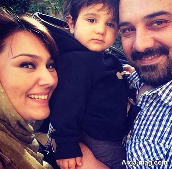 borzou arjmand 1 - تصاویر برزو ارجمند و خانواده اش