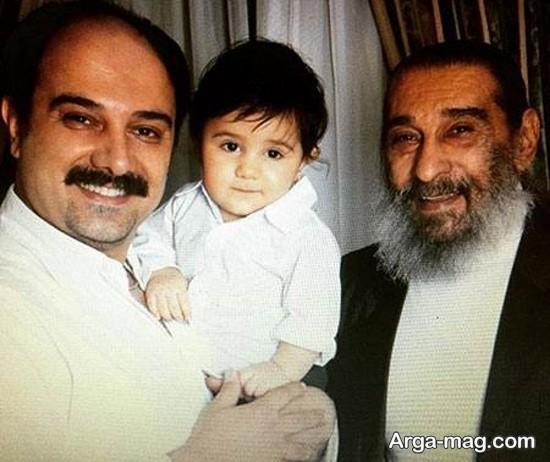 borzou arjmand 3 - تصاویر برزو ارجمند و خانواده اش