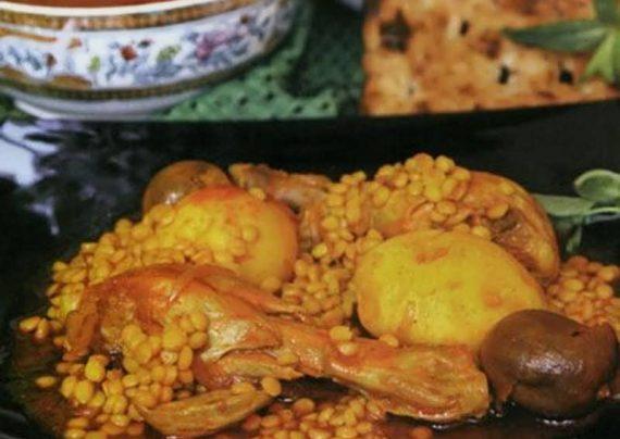 طرز تهیه آبگوشت مرغ