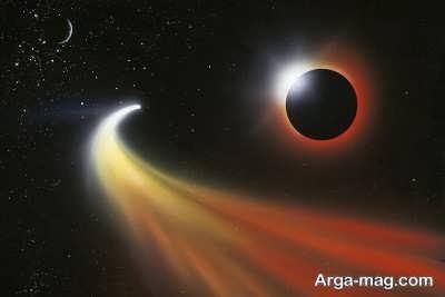 نزدیک شدن دنباله دار به خورشید