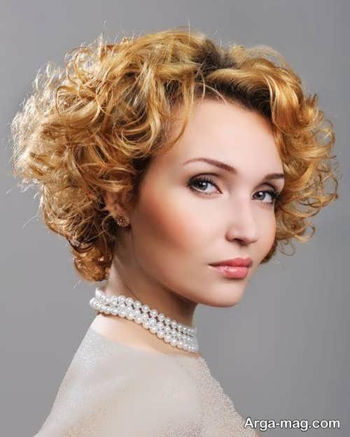 مدل موی شیک و باز فر