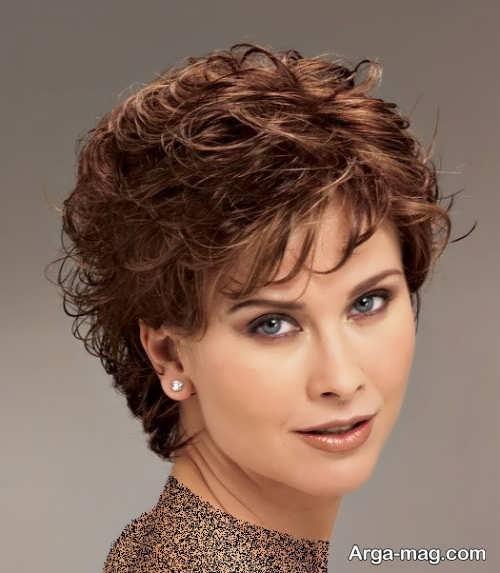 مدل مو کوتاه و باز زنانه
