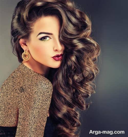 مدل موی فر یکطرفه