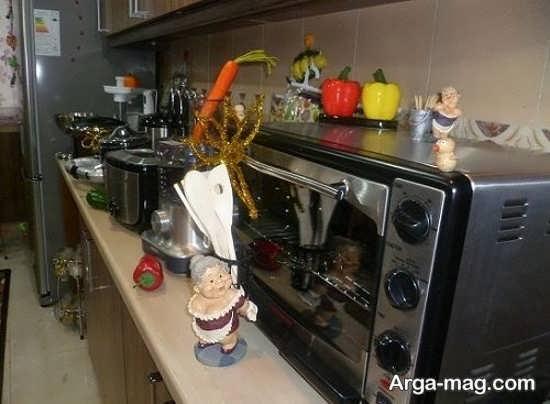 تزیین شیک آشپزخانه عروس