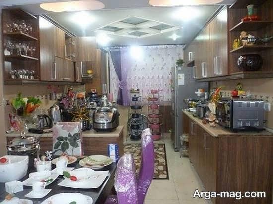 دیزاین جدید آشپزخانه عروس