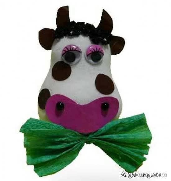 ساخت گاو با نمد