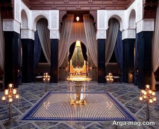 هتل زیبا و لوکس در مراکش