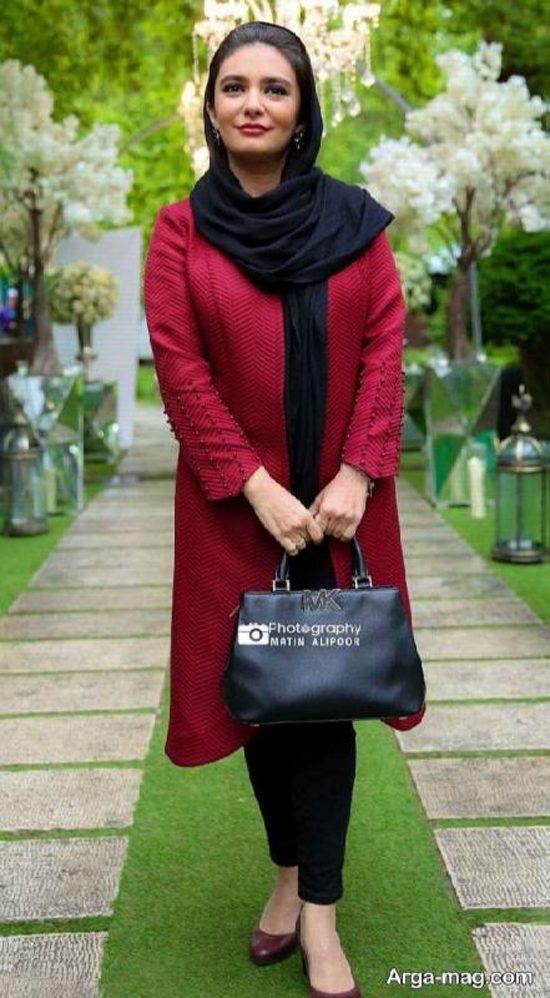 لیندا کیانی در مراسم عطر زن باران