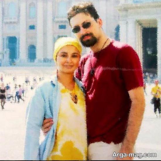 ماهایا پطروسیان و همسرش