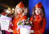 تصاویری از مهمانداران روسی