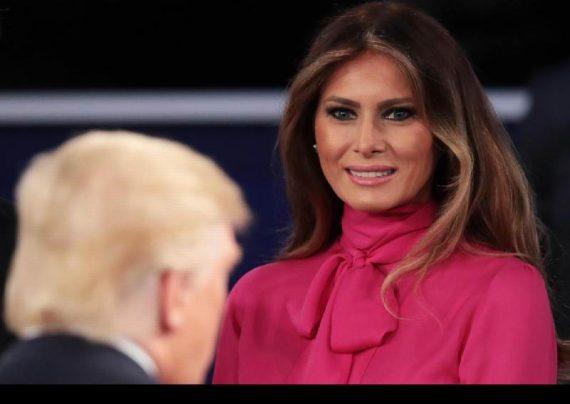 برملا شدن راز چهره ملانیا ترامپ