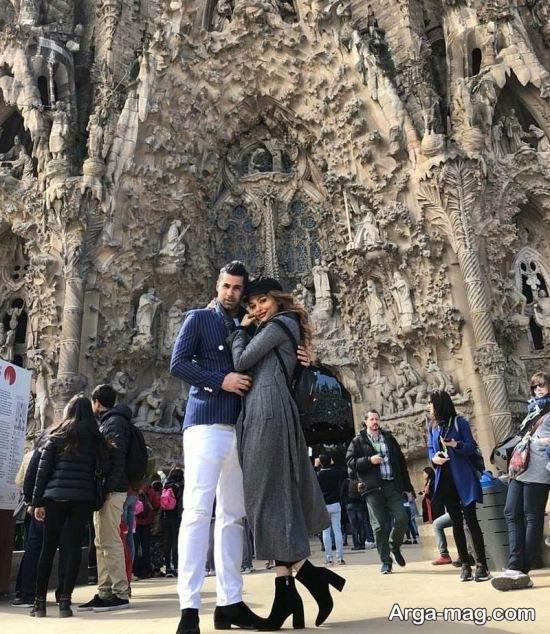 mohsen forozan 4 - عکس های منتشر شده از محسن فروزان و همسرش در اسپانیا
