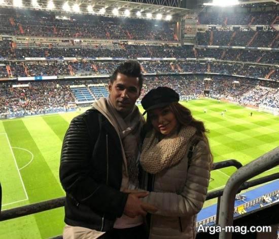 mohsen forozan 6 - عکس های منتشر شده از محسن فروزان و همسرش در اسپانیا