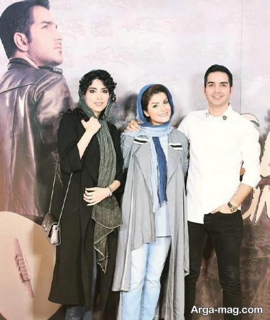 محسن یگانه و خواهرش