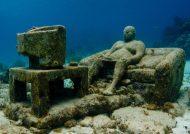 تصاویری جالب از موزه زیرآبی