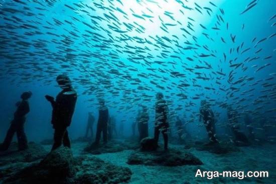 موزه زیر آبی «آتلانتیکو»