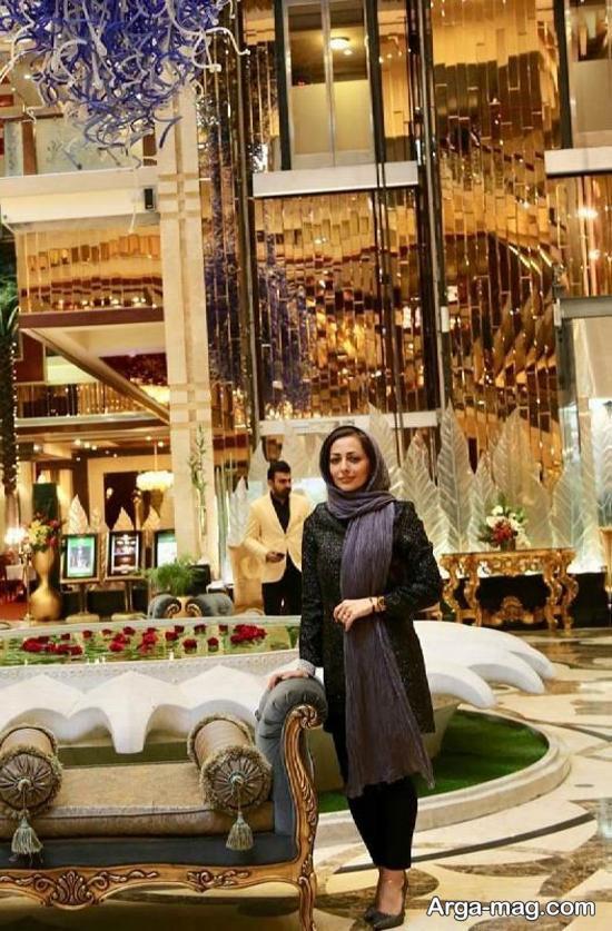 nafise roshan 1 - تصاویر نفیسه روشن در هتلی شیک در مشهد