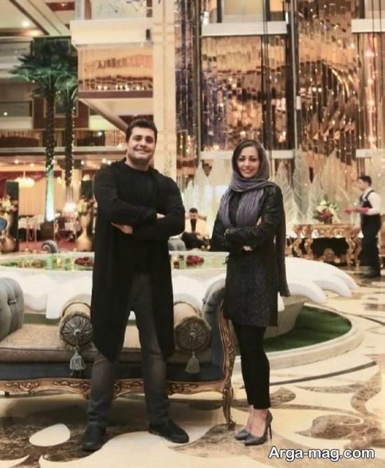 nafise roshan 2 - تصاویر نفیسه روشن در هتلی شیک در مشهد