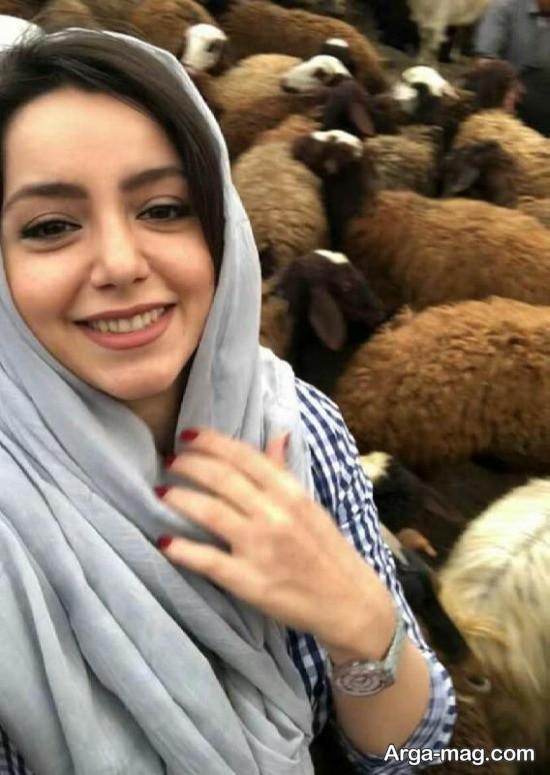 nazanin bayati 4 1 - تصاویر تازه منتشر شده از نازنین بیاتی در اطراف تهران