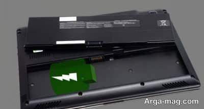 چک کردن باتری لپ تاپ
