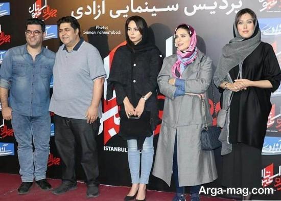 سحر دولتشاهی در سینما آزادی
