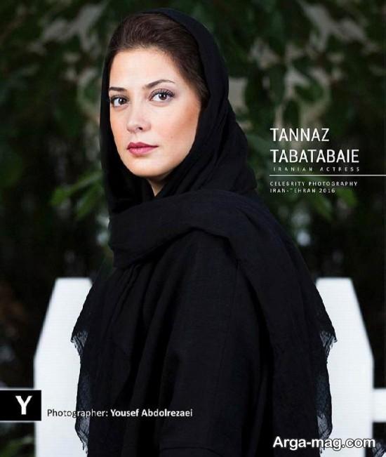 tannaz tabatabaei 4 - تصاویری لاکچری از طناز طباطبایی در باغی زیبا