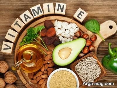خوراکی های حاوی ویتامین E