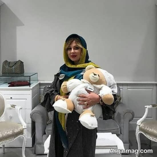zeighami 2 - نیوشا ضیغمی آخرین روزهای بارداری اش را سپری می کند!