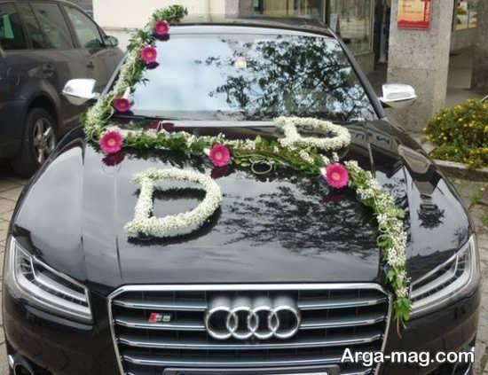 تزیین ماشین عروس شیک و خاص