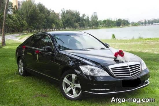 ماشین عروس زیبا مشکی