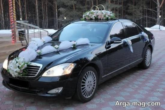 تزیین زیبا و شیک ماشین عروس