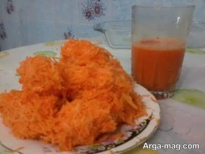 دستور تهیه خاگینه هویج