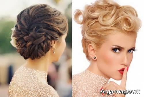 مدل آرایش موی زیبا و خاص عروس