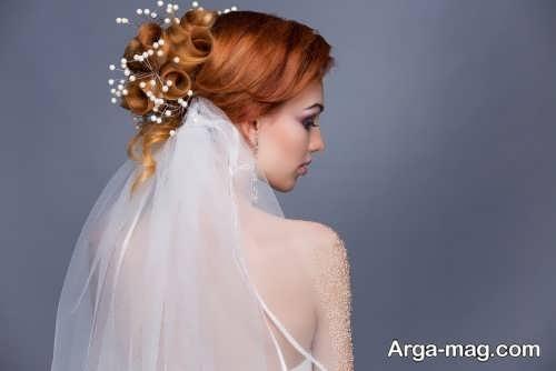 مدل آرایش مو حرفه ای عروس
