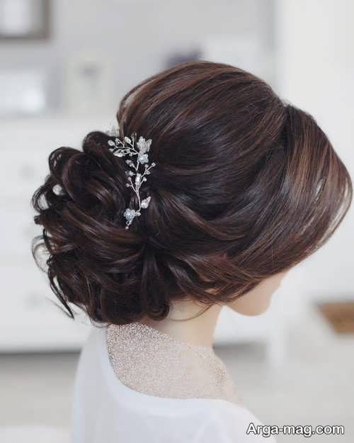 مدل آرایش موی شیک برای عروس