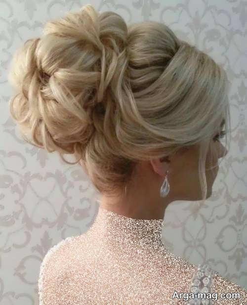مدل شینیون حرفه ای برای عروس