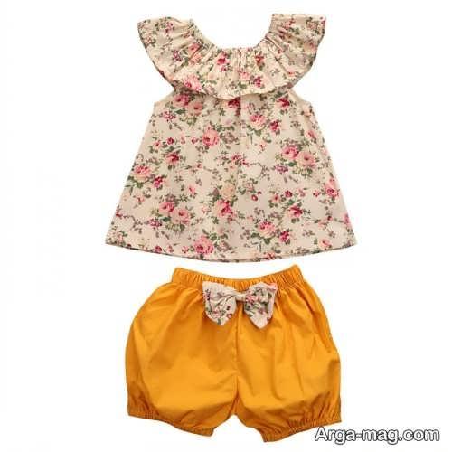 مدل لباس تابستانه بچه گانه