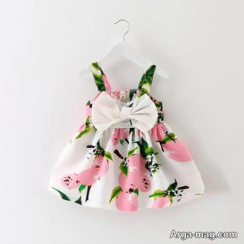 مدل لباس تابستانه بچه گانه گلدار